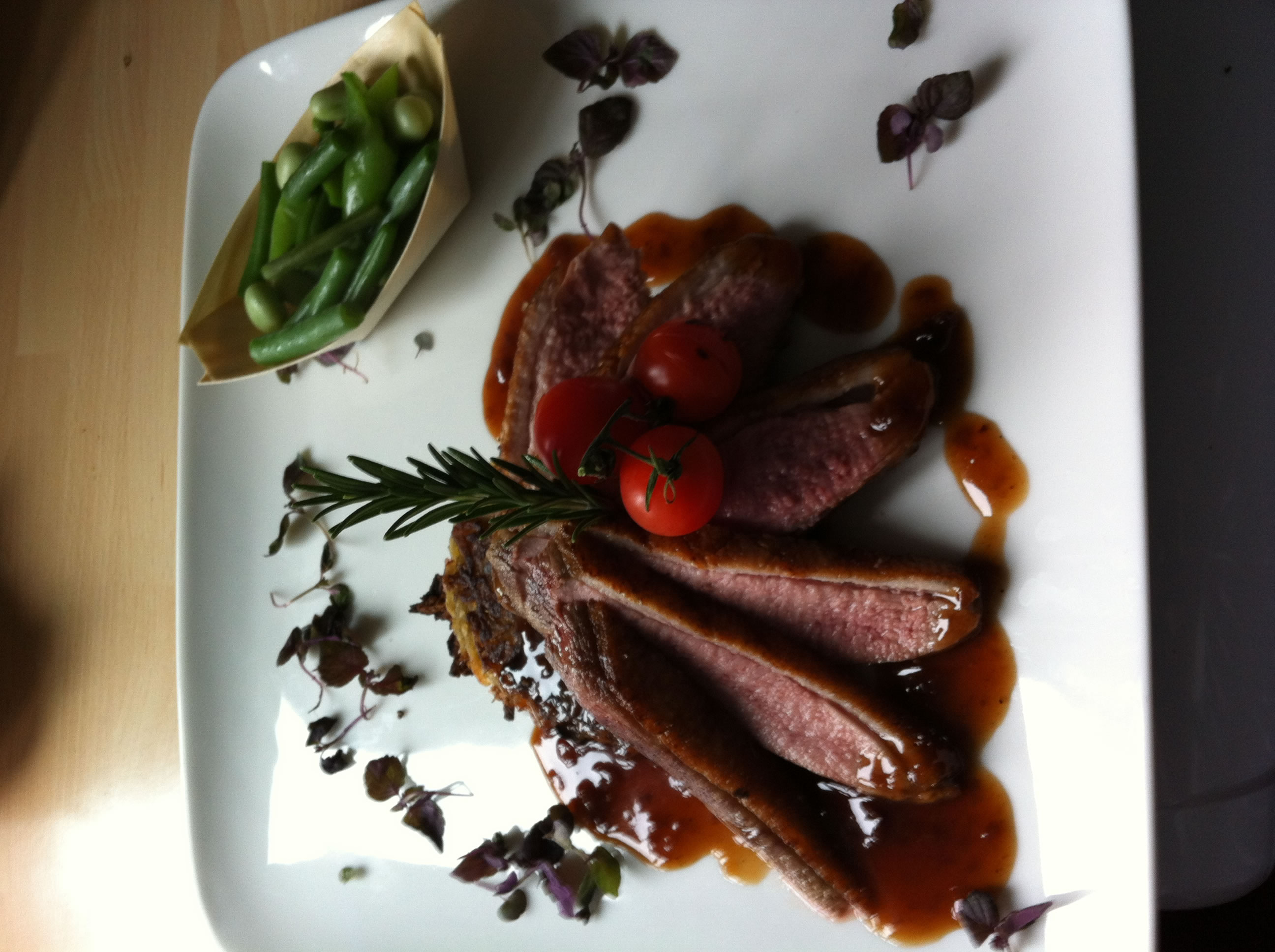 how to cook duck breast in pan